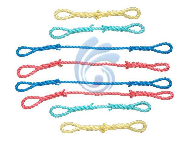 养殖绳的上色方法